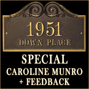 1951DownPlace Special Caroline Munro and Feedback Icon